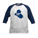 Baghdad Ass Up Kids Baseball Jersey (3 Colors)