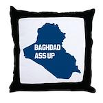 Baghdad Ass Up Throw Pillow