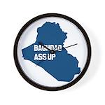 Baghdad Ass Up Wall Clock