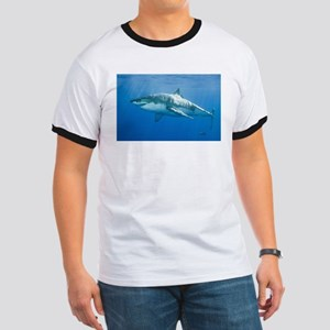 Great White Shark Ringer T