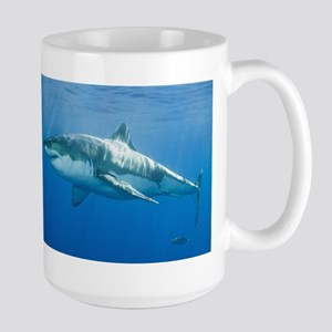 Great White Shark Large Mug