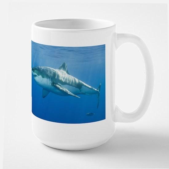 Great White Shark Large Mug