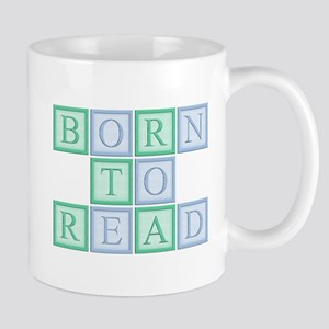 Born to Read Green Mug