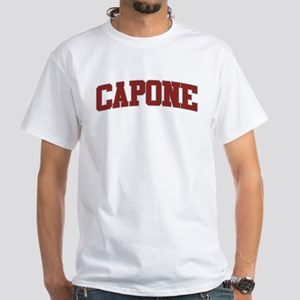 CAPONE Design White T-Shirt 787c93627f5b