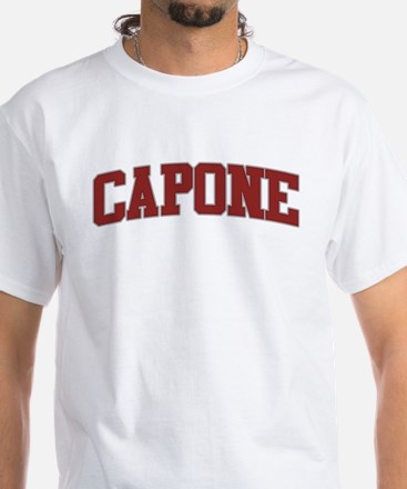 CAPONE Design White T-Shirt