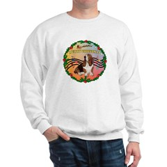 XmasMusic2MC/Basset Hound Sweatshirt