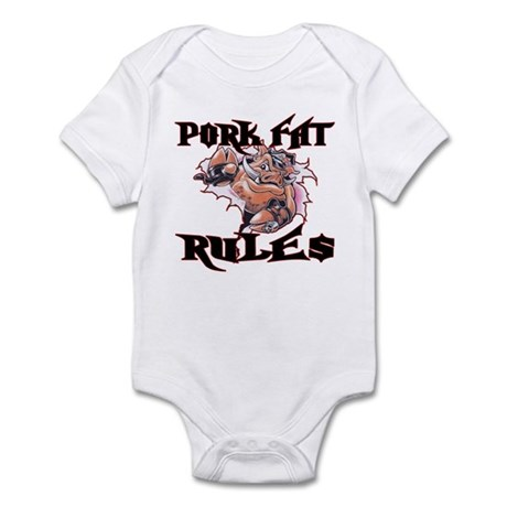 Pork Fat Rules Infant Bodysuit