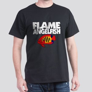 Flame Angelfish Dark Tee Shirt