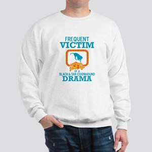 Black & Tan Coonhound Sweatshirt