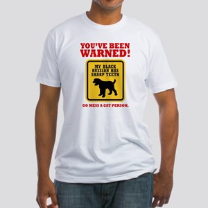 Black Russian Terrier Fitted T-Shirt