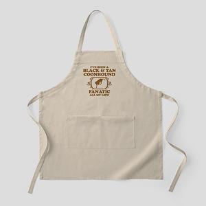 Black & Tan Coonhound BBQ Apron