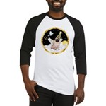 Night Flight/ Pug Baseball Jersey