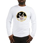 Night Flight/ Pug Long Sleeve T-Shirt