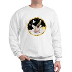 Night Flight/ Pug Sweatshirt