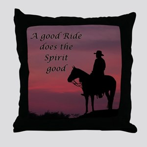 A good ride - Throw Pillow
