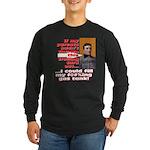 Afford to Fill Gas Tank Long Sleeve Dark T-Shirt
