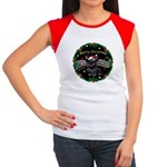 XmasMusic2/Skye Terrier Women's Cap Sleeve T-Shirt