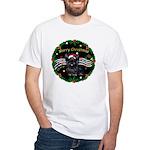XmasMusic2/Skye Terrier White T-Shirt