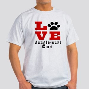 Love jungle-curl Cat Light T-Shirt
