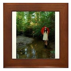 Jeny Davis Framed Tile