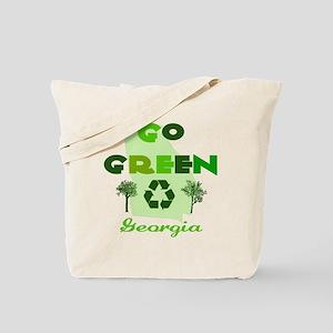Go Green Georgia Reusable Tote Bag