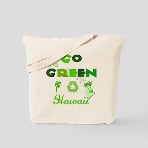 Go Green Hawaii Reusable Tote Bag