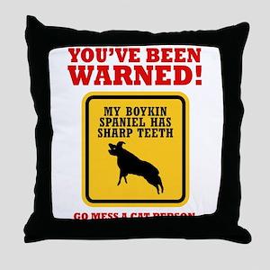 Boykin Spaniel Throw Pillow