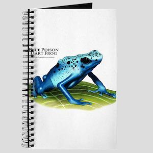 Blue Poison Dart Frog Journal