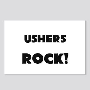 Ushers ROCK Postcards (Package of 8)