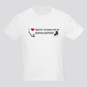 german shepherd Kids Light T-Shirt