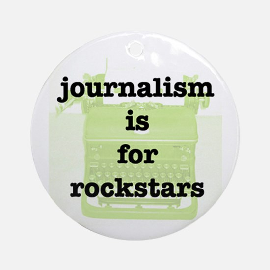 Journo Rock Keepsake (Round)