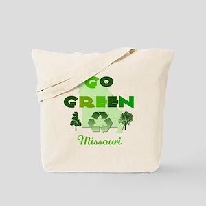 Go Green Missouri Reusable Tote Bag