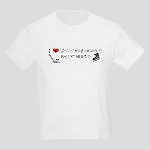 basset hound Kids Light T-Shirt