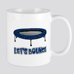Let's Bounce Trampoline Mug