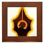 Fires of Drulkar Framed Tile