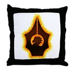 Fires of Drulkar Throw Pillow