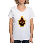 Fires of Drulkar Women's V-Neck T-Shirt