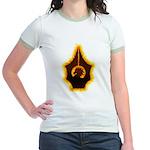 Fires of Drulkar Jr. Ringer T-Shirt