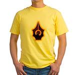 Fires of Drulkar Yellow T-Shirt