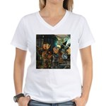 Gnomish Women's V-Neck T-Shirt