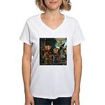 Gnomish Women's V-Neck T-Shirt