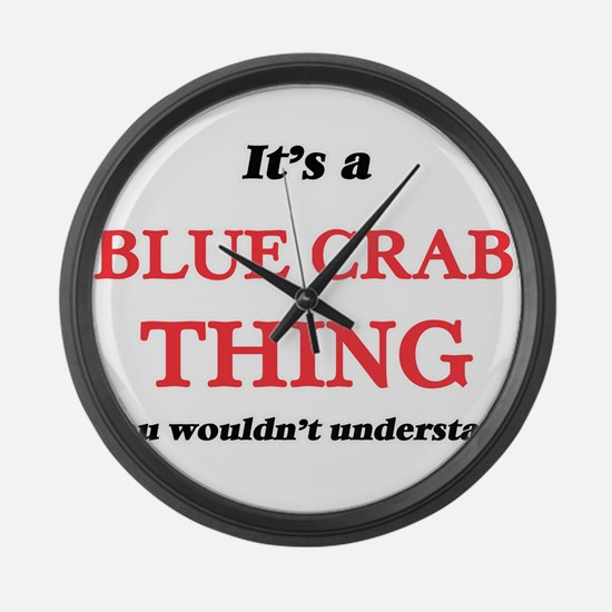 It's a Blue Crab thing, you w Large Wall Clock