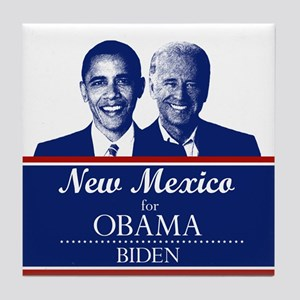New Mexico for Obama Tile Coaster