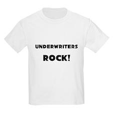 Underwriters ROCK Kids Light T-Shirt