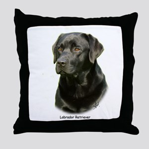 Labrador Retriever 9A054D-23a Throw Pillow