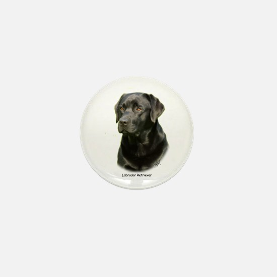 Labrador Retriever 9A054D-23a Mini Button