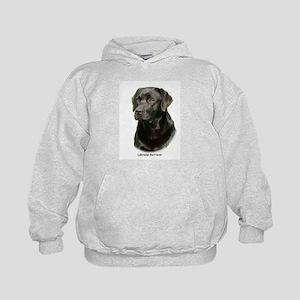 Labrador Retriever 9A054D-23a Kids Hoodie