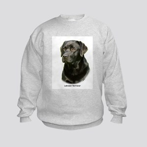 Labrador Retriever 9A054D-23a Kids Sweatshirt