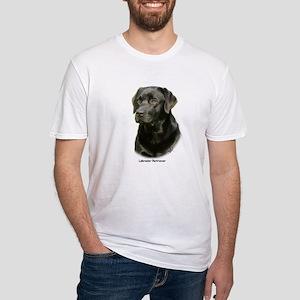 Labrador Retriever 9A054D-23a Fitted T-Shirt