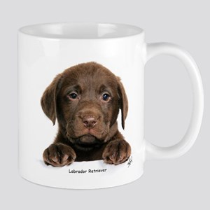 Chocolate Labrador Retriever puppy 9Y270D-050 Mug